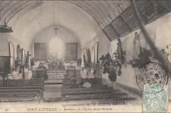 Eglise Saint-Melaine - Français:   intérieur de l\'église Saint Melaine