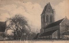 Eglise - Français:   Carte postale de l\'église