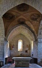 Eglise Saint-Cyr et Sainte-Julitte - Français:   Chœur Autel Église Saint-Cyr-et-Sainte-Julitte de Clamerey