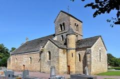 Eglise Saint-Cyr et Sainte-Julitte - Français:   Église Saint-Cyr-et-Sainte-Julitte de Clamerey avec tour