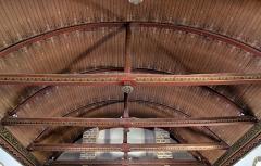 Eglise Saint-Cyr et Sainte-Julitte - Français:   Voûte Nef Église Saint-Cyr-et-Sainte-Julitte de Clamerey