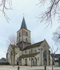 Château - Français:   L\'Église Saint-Symphorien d\'Époisses.