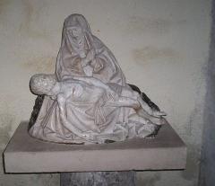 Château - Français:   Pieta du XVe siècle, eglise d\'Epoisses (21)