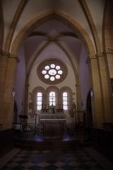Château - Français:   Intérieur de l\'église Saint-Symphorien d\'Époisses (21). Chœur.