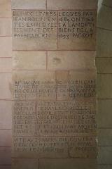 Château - Français:   Intérieur de l\'église Saint-Symphorien d\'Époisses (21).