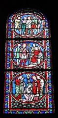 Château - Français:   Intérieur de l\'église Saint-Symphorien d\'Époisses (21). Baie 06. Vie de Saint-Symphorien.