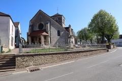 Eglise Saint-Vallier de Messigny - Français:   Église Saint Vallier de Messigny-et-Vantoux (21). Façade occidentale.