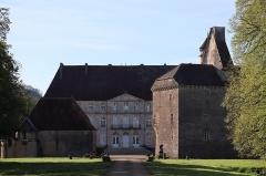 Château - Français:   Vieux et nouveau châteaux de Thenissey (21).