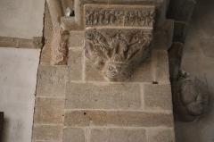 Eglise Saint-Germain d'Auxerre - Français:   Intérieur de l\'église Saint-Germain de Vitteaux (21). Consoles à l\'entrée du chœur.
