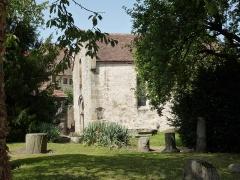Chapelle Saint-Nicolas - Français:   Chapelle Saint-Nicolas musée lapidaire (Classé)