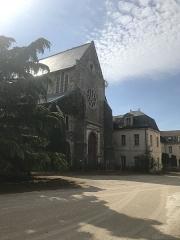 Hôpital Saint-Jean - Français:   Façade de l\'église Saint-Jean de l\'ancien hôpital de Sens.