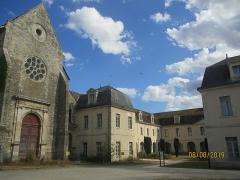 Hôpital Saint-Jean - Français:   Église et hôpital Saint-Jean de Sens.