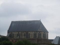 Hôpital Saint-Jean - Français:   Église à Sens (Yonne).