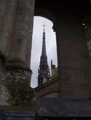 Cathédrale Notre-Dame - Français:   Amiens - Tours de Notre-Dame