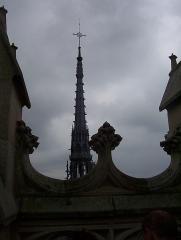 Cathédrale Notre-Dame - Français:   Amiens - Tours de Notre-Dame: Flèche.