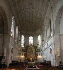 Eglise Saint-Acheul - Français:   Eglise Saint-Acheul d\'Amiens, le choeur