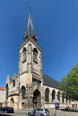 Eglise Saint-Leu - Français:   Église Saint-Leu d\'Amiens.