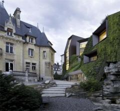 Hôtel Bouctot-Vagniez, actuellement Chambre régionale de Commerce et d'Industrie de Picardie - English:   Chambre Régionale de Commerce et d\'Industrie de Picardie,  Chartier-Corbasson architectes, Amiens, 2012