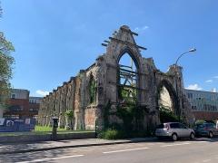 Hôtel Dieu - Français:   Ruines de l\'hôtel-dieu, Amiens.