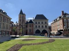 Logis du Roi - Français:   Logis du Roi et maison du Sagittaire, Amiens.
