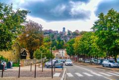 Tour de l'Horloge et tour carrée Saint-Hippolyte - Deutsch:   Uhrturm, Crémieu, Département Isère, Region Auvergne-Rhône-Alpes (ehemals Rhône-Alpes), Frankreich