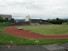 Stade Le Corbusier - Français:   Stade de Firminy-Vert (architecte: Le Corbusier)