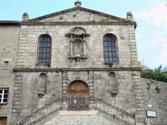 Couvent des Ursulines - Français:   Saint-Bonnet-le-Château - Chapelle des Ursulines (après 1620)