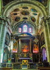 Eglise Notre-Dame - Deutsch:   Hochaltar der Kirche St. Maria, Chambéry, Département Savoyen, Region Auvergne-Rhône-Alpes (ehemals Rhône-Alpes), Frankreich
