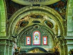 Eglise Notre-Dame - Deutsch:   Chorgewölbe der Kirche St. Maria, Chambéry, Département Savoyen, Region Auvergne-Rhône-Alpes (ehemals Rhône-Alpes), Frankreich