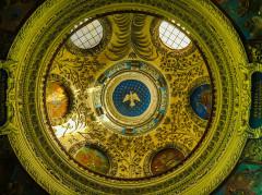 Eglise Notre-Dame - Deutsch:   Kuppel der Kirche St. Maria, Chambéry, Département Savoyen, Region Auvergne-Rhône-Alpes (ehemals Rhône-Alpes), Frankreich