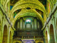 Eglise Notre-Dame - Deutsch:   Orgel der Kirche St. Maria, Chambéry, Département Savoyen, Region Auvergne-Rhône-Alpes (ehemals Rhône-Alpes), Frankreich