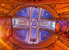 Eglise Saint-Michel - Deutsch:   Kuppel der Kirche St. Michael, Lanslevillard, Département Savoyen, Region Auvergne-Rhône-Alpes (ehemals Rhône-Alpes), Frankreich