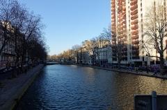 Canal Saint-Martin - English:   Paris 12-28