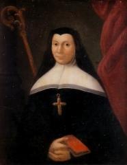 Ancien couvent bénédictin Notre-Dame - English:   Madeleine-Joséphine de Scépeaux de Moulinvieux, last abbess of Notre-Dame de Nyoiseau abbey