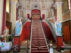 Eglise Notre-Dame de Montserato - Français:   A Scala Santa, à l\'intérieur de la chapelle de A Madonna di Munserrà, ou de Monserratu, à Bastia