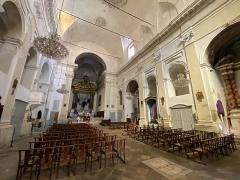 Eglise Saint-Charles - Français:   Decoru internu di a chjesa San Carlu, in Bastia