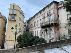 Maison de Caraffa ou ensemble immobilier dit maison de Caraffa - Français:   Palazzu Caraffa, rue chanoine Letteron ou carrughju dirittu à Bastia