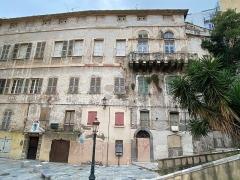 Maison de Caraffa ou ensemble immobilier dit maison de Caraffa - Français:   Façade du Palais Caraffa ou Palazzu Caraffa à Bastia