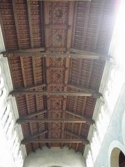 Eglise Notre-Dame - Français:   Intérieur de l\'église Notre-Dame de Clisson (44). Nef principal. Plafond.