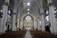 Église Saint-Géran - Français:   Intérieur de l\'église Saint-Gérand