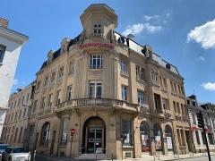 Immeuble du Courrier Picard et vestiges du Couvent de la Visitation - Français:   Ancien siège du Courrier Picard, Amiens.
