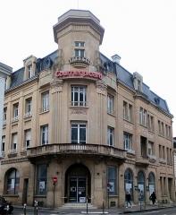 Immeuble du Courrier Picard et vestiges du Couvent de la Visitation - Français:   Rue de la République (Amiens)