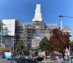 Hôtel de ville - Français:   Hôtel de ville de Pantin en travaux.