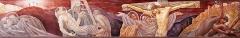 Eglise Saint-Louis - Français:   Chemin de croix de l\'église Saint-Louis de Marseille peint par Jacques Martin-Ferrières. Station N°XI à XIV: Jésus est cloué sur la crois - jésus meurt sur la croix - Jésus est descendu de la croix - Jésus est mis au sépulcre