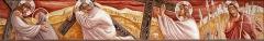 Eglise Saint-Louis - Français:   Chemin de croix de l\'église Saint-Louis de Marseille peint par Jacques Martin-Ferrières. Station N° I à  IV: Jésus est condamné à mort, Jésus est chargé de sa croix, Jésus tombe pour la première fois, Jésus rencontre sa mère.