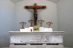 Eglise Saint-Louis - Français:   Autel dans le chœur de l\'église Saint Louis de Marseille