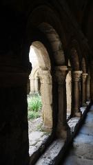 Ancienne cathédrale, puis église paroissiale Saint-Véran - Deutsch:   Cavaillon cathedral (inside) Kreuzgang Akanthus