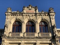 Théâtre municipal - Français:   Théâtre municipal d\'Orange dans le Vaucluse.
