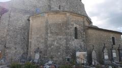 Eglise paroissiale Notre-Dame-de-Pitié - Deutsch:   Notre-Dame de Pitié de Saignon Apsis