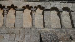 Eglise paroissiale Notre-Dame-de-Pitié - Deutsch:   Notre-Dame de Pitié de Saignon Arkaden